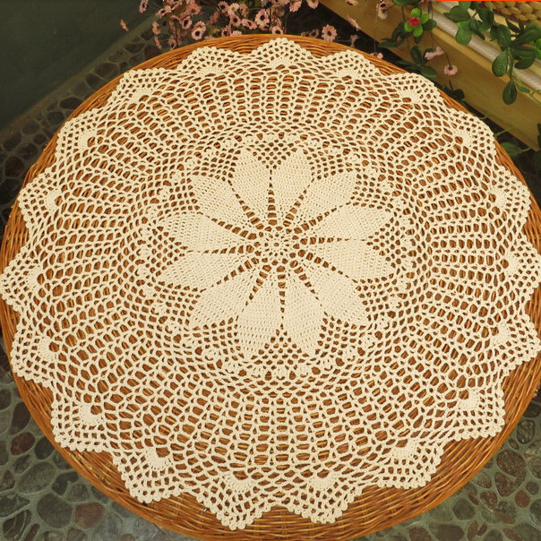 Crochet Round Tablecloths Luxury Aliexpress Buy Handmade Vintage Crochet Round Of Unique 43 Pictures Crochet Round Tablecloths