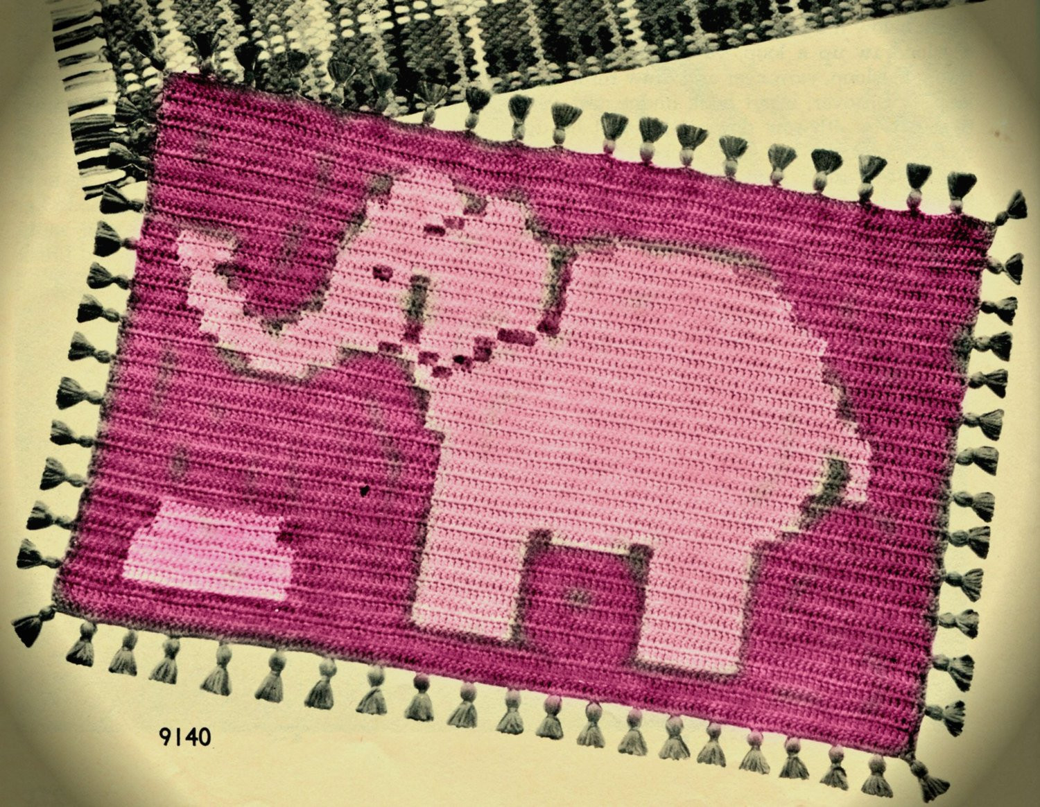Crochet Rug Patterns Awesome Pink Elephant Crochet Rug Pattern Of Amazing 41 Images Crochet Rug Patterns