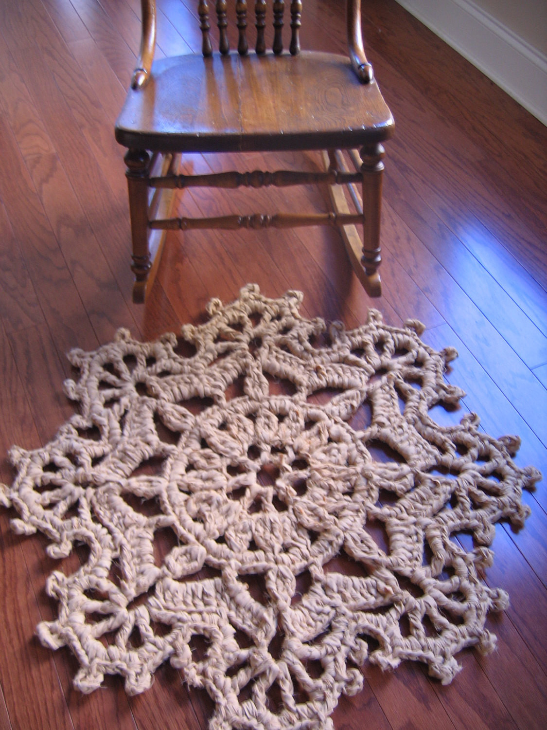 Crochet Rug Patterns Beautiful Rag Crochet Rug Pattern Fans On the Edge by Raggedyanns On Of Amazing 41 Images Crochet Rug Patterns