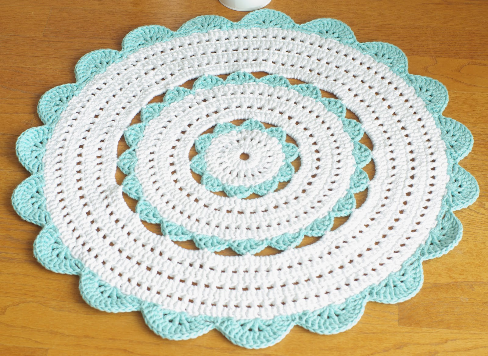 Crochet Rug Patterns Elegant Handy Crafter Custom Made isabella Doily Rug In Of Amazing 41 Images Crochet Rug Patterns