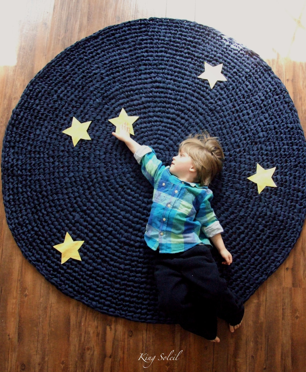 Crochet Rugs Best Of Kids Rug Reach for the Stars Navy Cotton Crochet Rug with Of Adorable 43 Models Crochet Rugs
