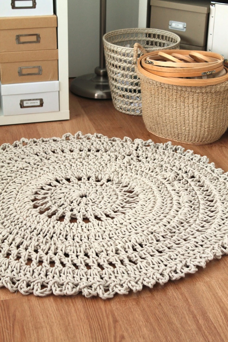 Crochet Rugs Unique 17 Best Images About Crochet Edging Rugs Pillows On Of Adorable 43 Models Crochet Rugs