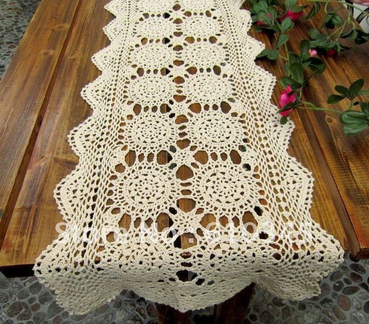 Crochet Runner Beautiful 1000 Images About Crochet Table Runner On Pinterest Of Fresh 45 Ideas Crochet Runner
