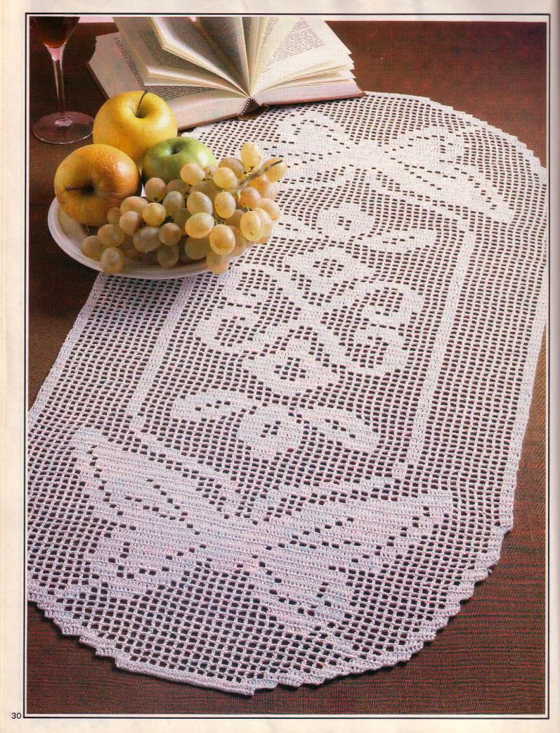 Crochet Runner Beautiful Crochet Free Pattern Pineapple Runner – Crochet Club Of Fresh 45 Ideas Crochet Runner