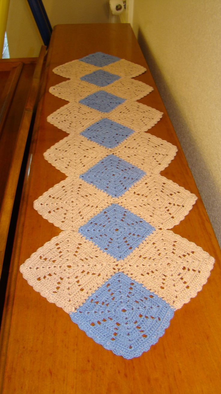 Crochet Table Runner Patterns Free WoodWorking Projects