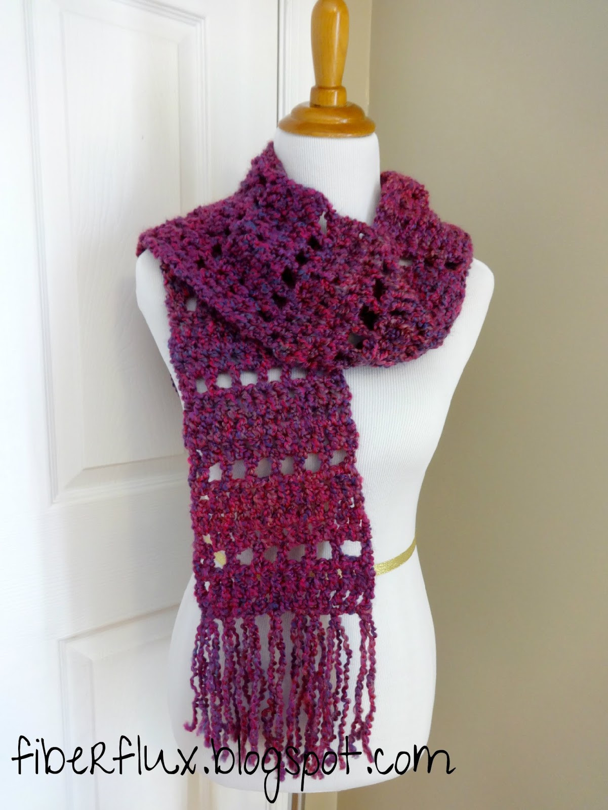Crochet Scarf Awesome Fiber Flux Free Crochet Pattern Mulberry Scarf Of Incredible 48 Images Crochet Scarf