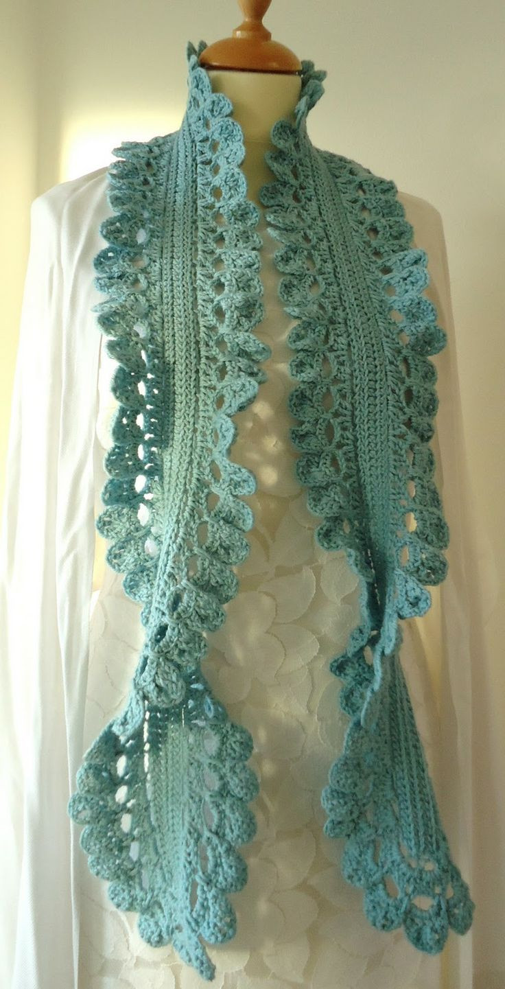 Crochet Scarf Beautiful 17 Best Images About Crochet Scarves and Wraps On Of Incredible 48 Images Crochet Scarf
