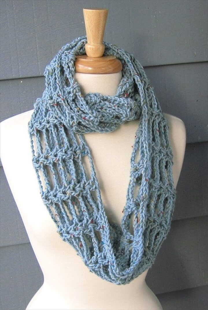 Crochet Scarf Fresh 32 Super Easy Crochet Infinity Scarf Ideas Of Incredible 48 Images Crochet Scarf