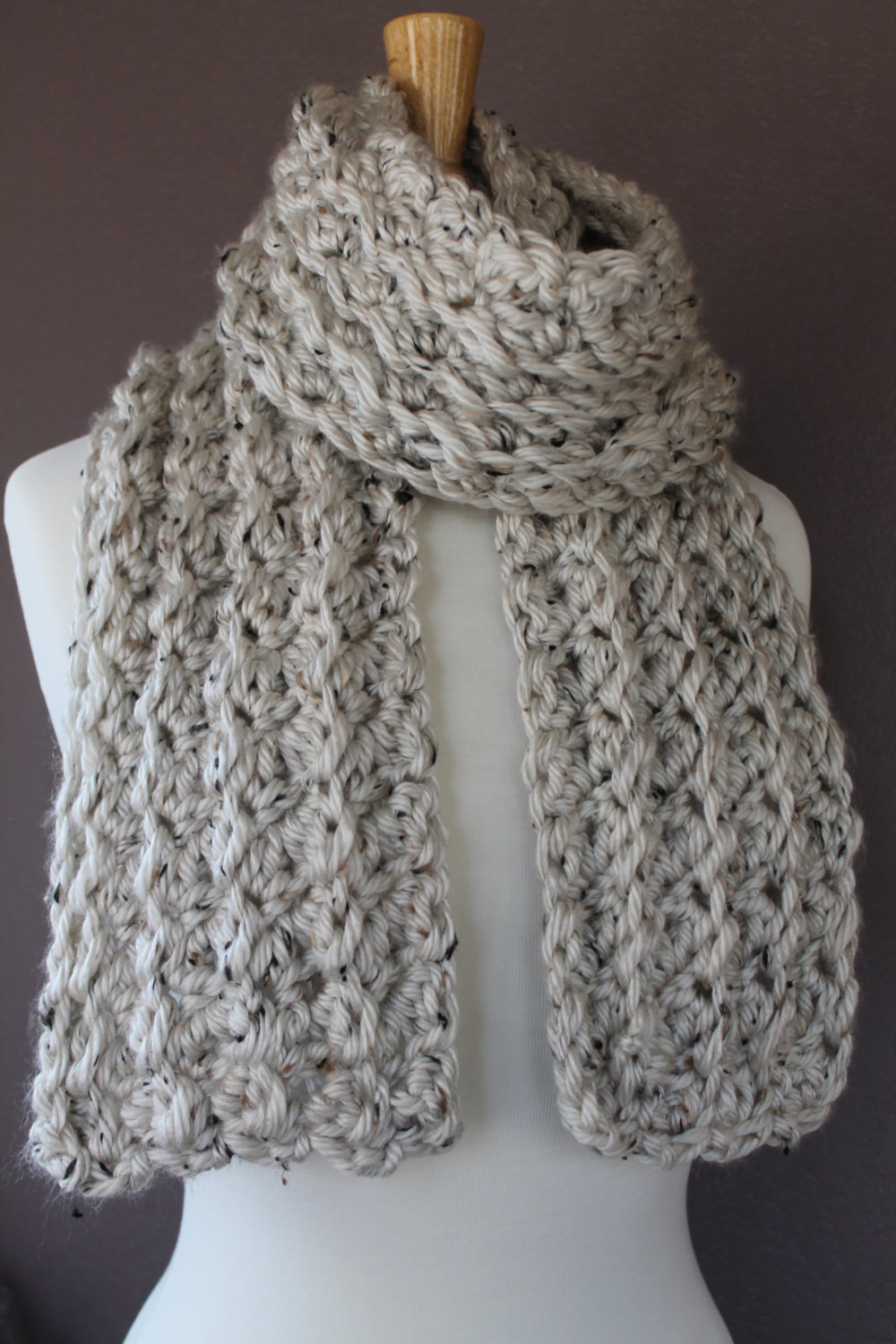 Crochet Scarf Inspirational Chunky Crochet Scarf Pattern Crafty Mn Mom Of Incredible 48 Images Crochet Scarf