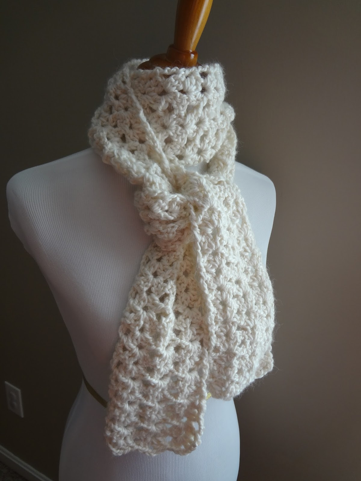 Crochet Scarf Patterns Beautiful Fiber Flux Free Crochet Pattern Vanilla Bean Scarf Of Charming 49 Models Crochet Scarf Patterns