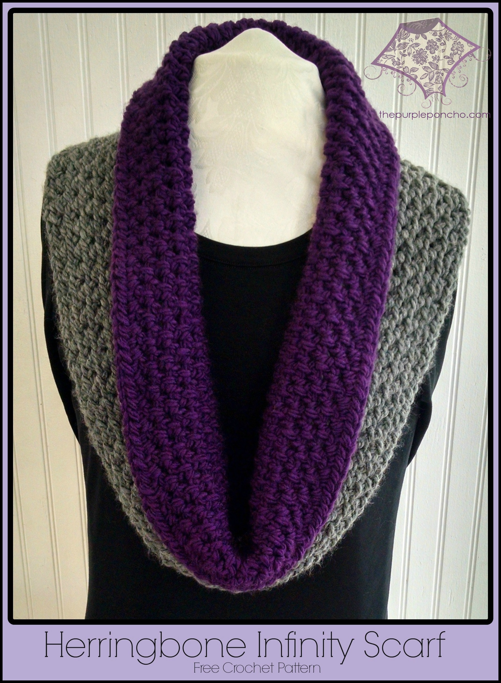 Crochet Scarf Patterns Fresh Herringbone Infinity Scarf A Free Crochet Pattern Of Charming 49 Models Crochet Scarf Patterns
