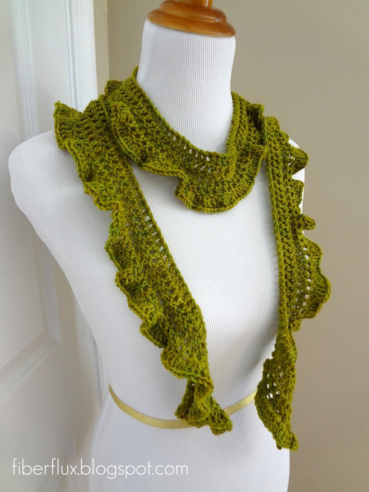 Crochet Scarf Patterns Unique Fiber Flux Free Crochet Pattern Arugula Scarf Of Charming 49 Models Crochet Scarf Patterns