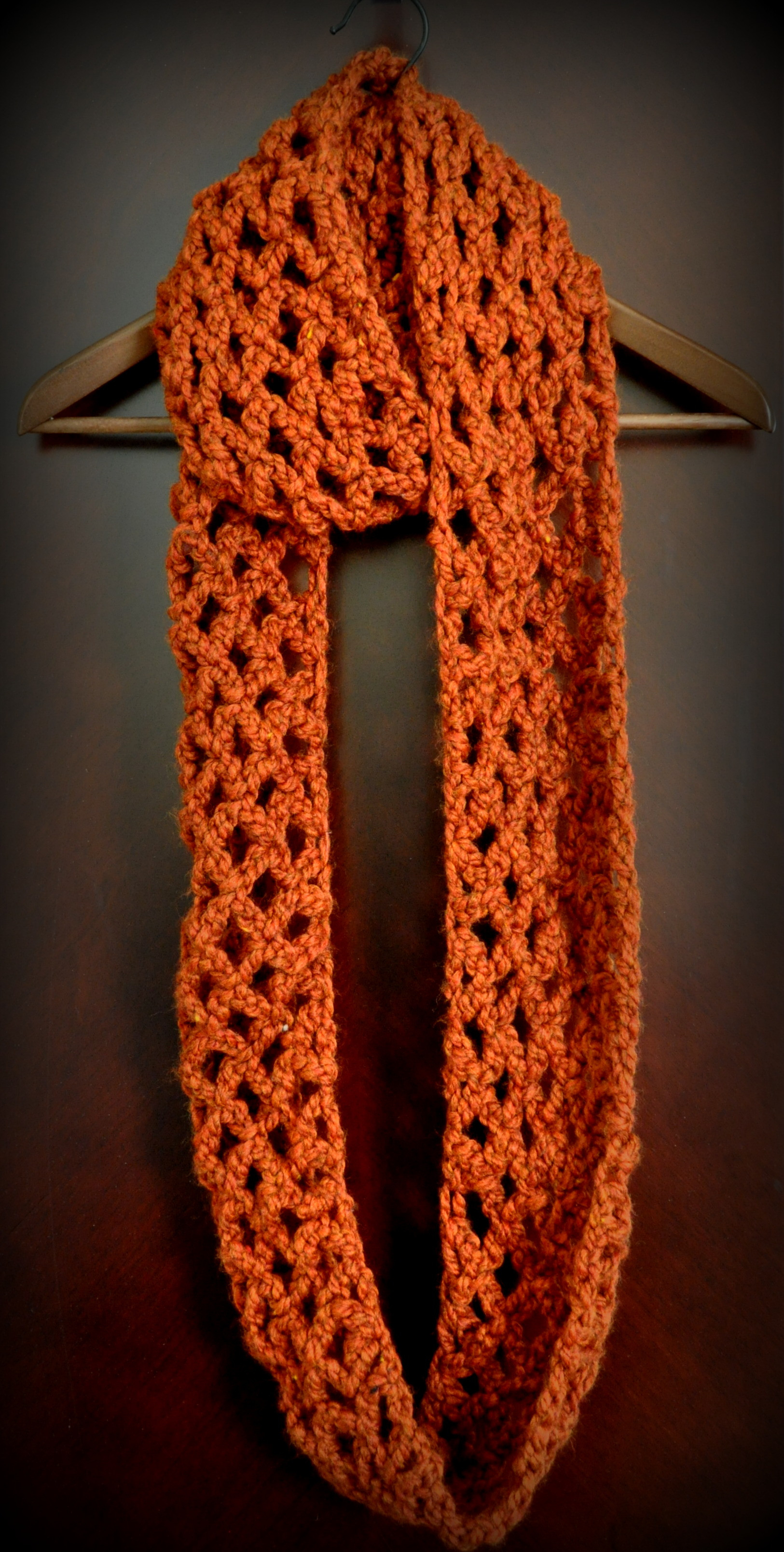 Crochet Scarf Unique Free Pattern Diamond Lattice Chain Crochet Infinity Scarf Of Incredible 48 Images Crochet Scarf