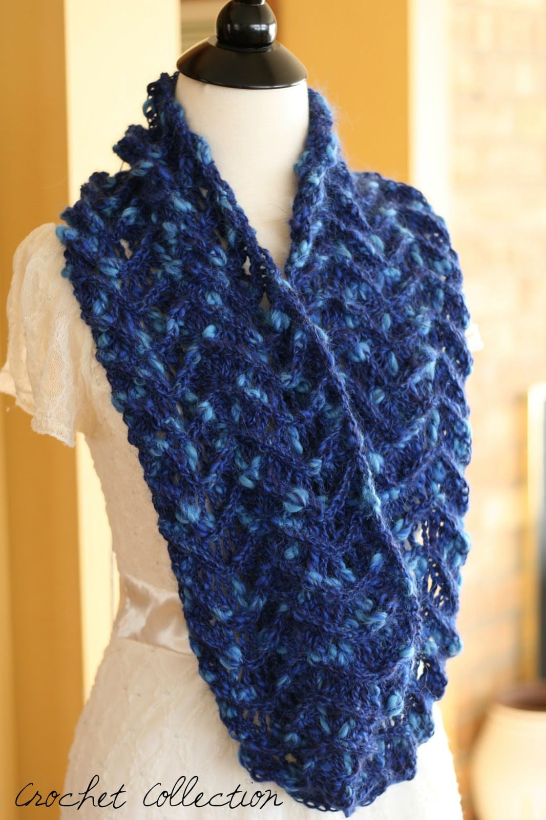 Crochet Scarfs Inspirational now Available for Pre order Genevieve Infinity Scarf Of Brilliant 40 Pics Crochet Scarfs
