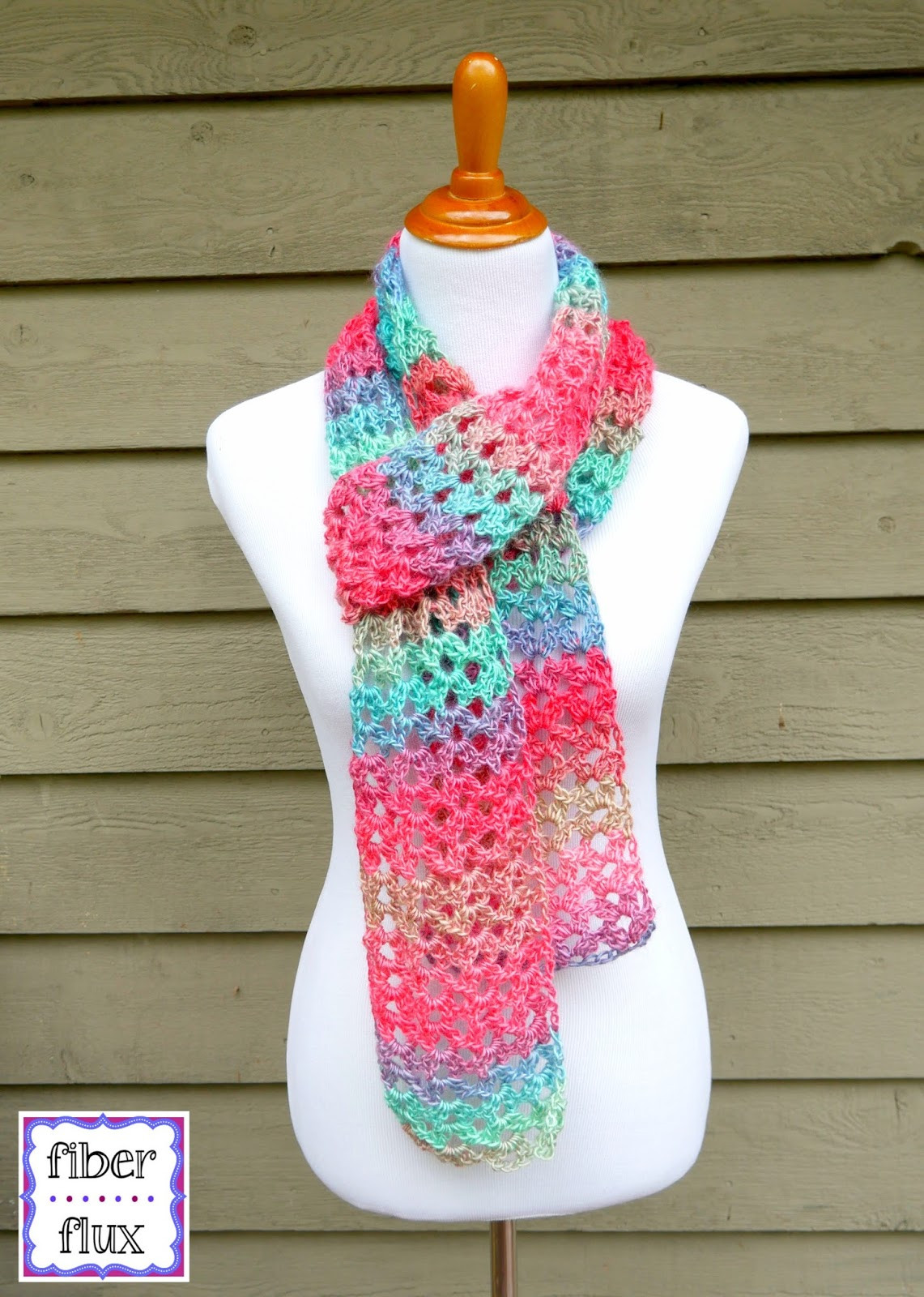 Crochet Scarves Patterns Awesome Fiber Flux Free Crochet Pattern island Lace Scarf Of Adorable 49 Models Crochet Scarves Patterns