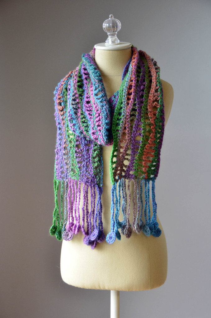 Crochet Scarves Patterns Beautiful Free Pattern Friday – Crochet Coin Scarf – Universal Yarn Of Adorable 49 Models Crochet Scarves Patterns