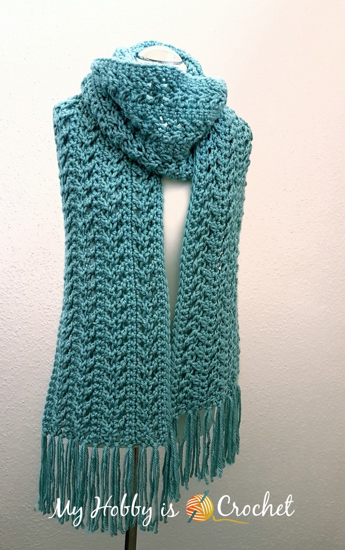 Crochet Scarves Patterns Inspirational My Hobby is Crochet Go with the Flow Super Scarf Free Of Adorable 49 Models Crochet Scarves Patterns