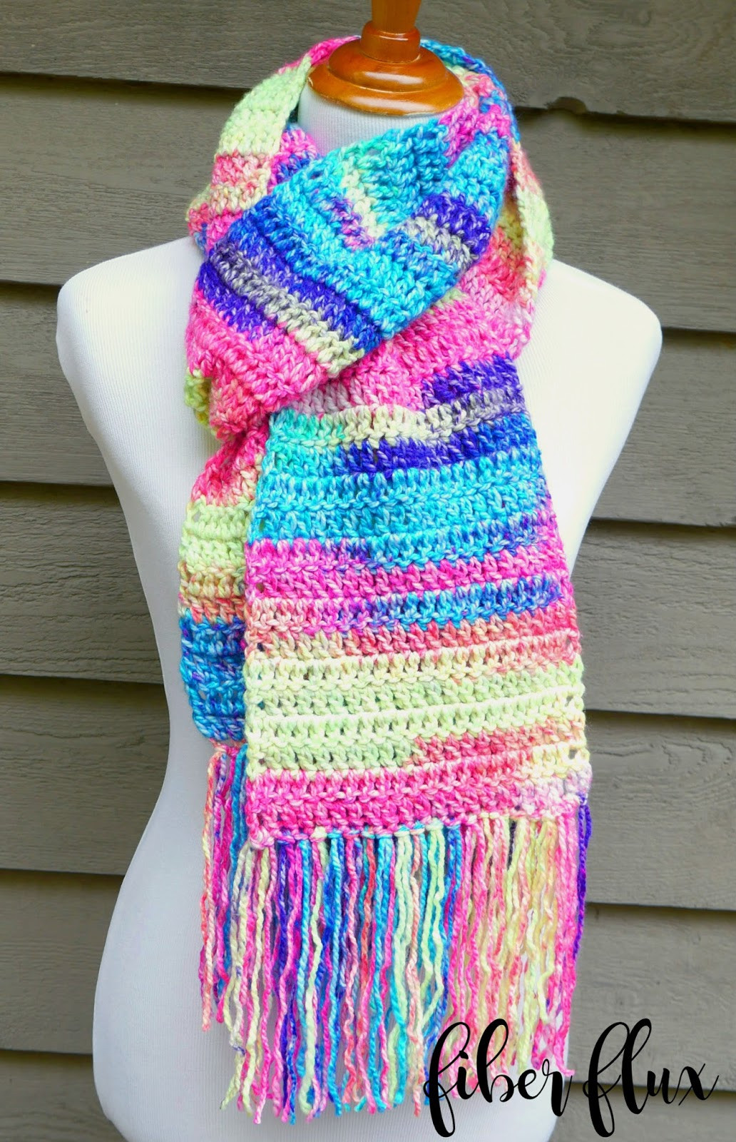 Crochet Scarves Patterns Lovely Fiber Flux Free Crochet Pattern Absolute Beginner Of Adorable 49 Models Crochet Scarves Patterns
