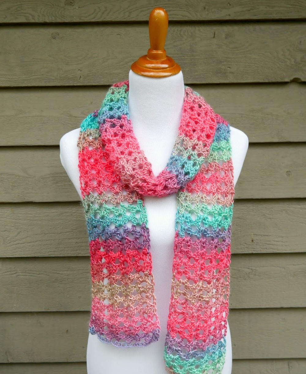 Crochet Scarves Patterns Lovely island Lace Crochet Scarf Of Adorable 49 Models Crochet Scarves Patterns