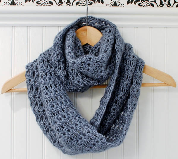 Crochet Scarves Patterns Lovely Mobius Infinity Scarf Wrap Petals to Picots Of Adorable 49 Models Crochet Scarves Patterns