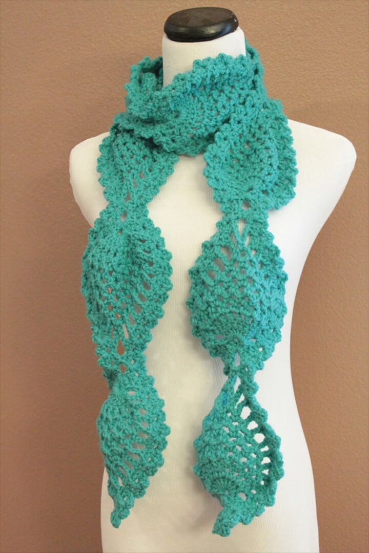 Crochet Scarves Patterns New 27 Quick & Easy Crochet Scarf Of Adorable 49 Models Crochet Scarves Patterns