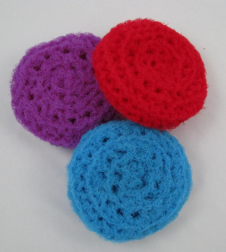 Crochet Scrubbies Best Of Nylon Crocheted Scrubbies to Clean Your Pots and Pans 3 Of Attractive 41 Ideas Crochet Scrubbies