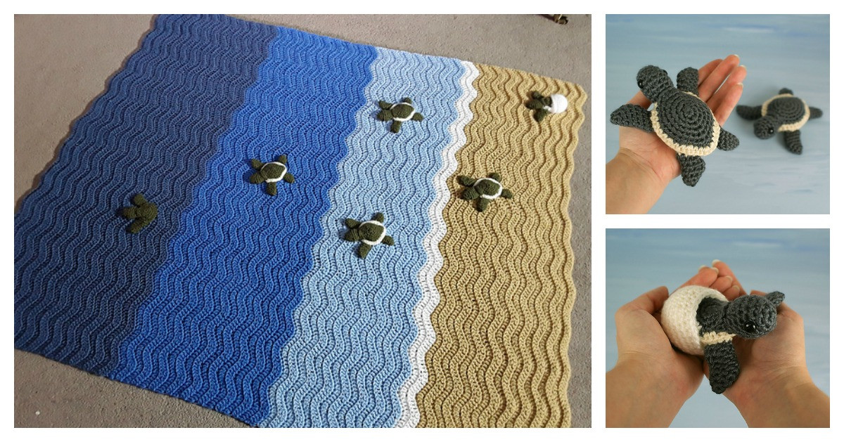 Crochet Sea Turtle Blanket Awesome Gorgeous Turtle Beach Blanket Crochet Pattern Of Awesome 47 Photos Crochet Sea Turtle Blanket