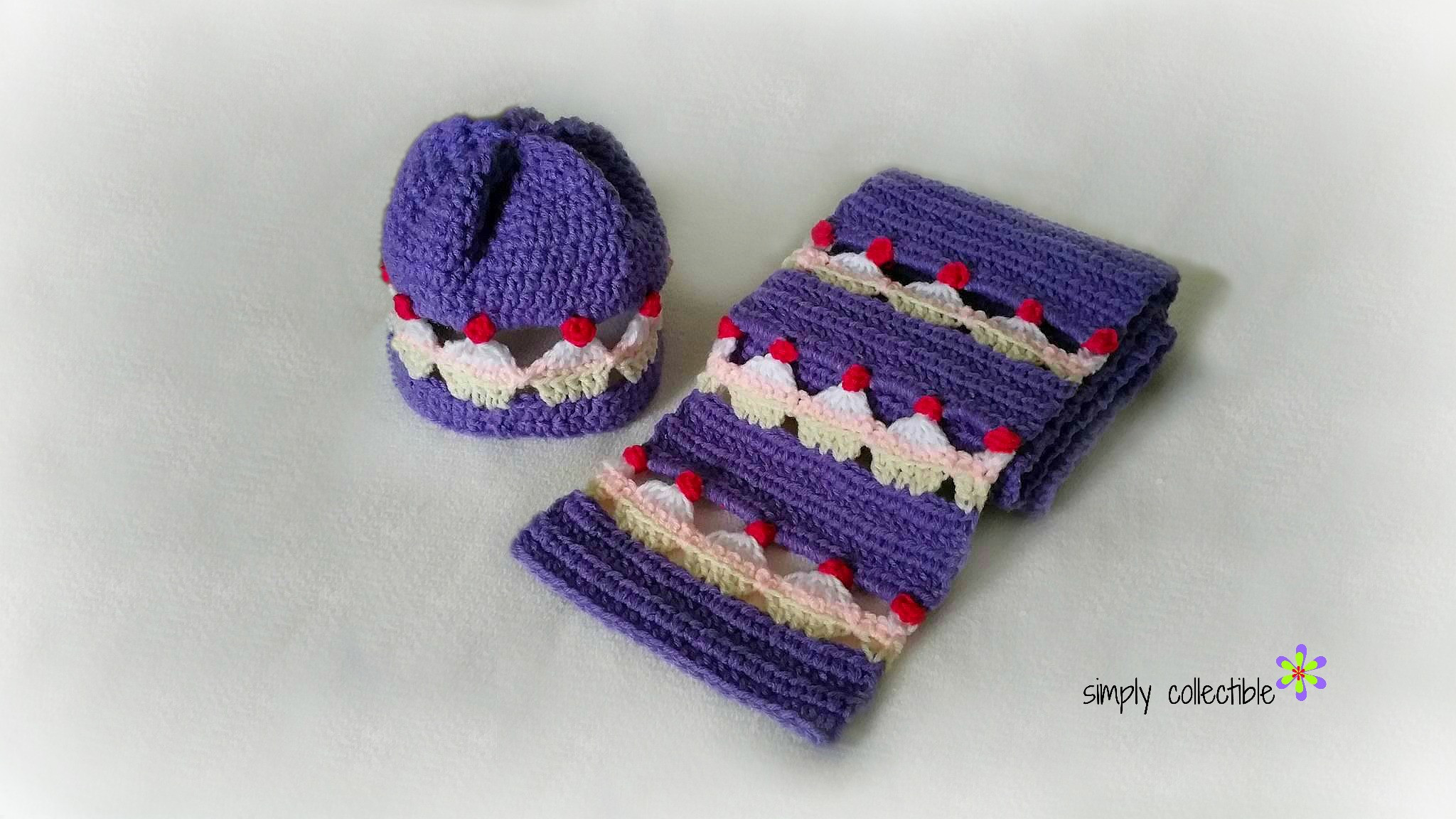 Crochet Set Inspirational Adorable Cupcake Lovers Beanie and Scarf Set Infant to Of Top 47 Photos Crochet Set