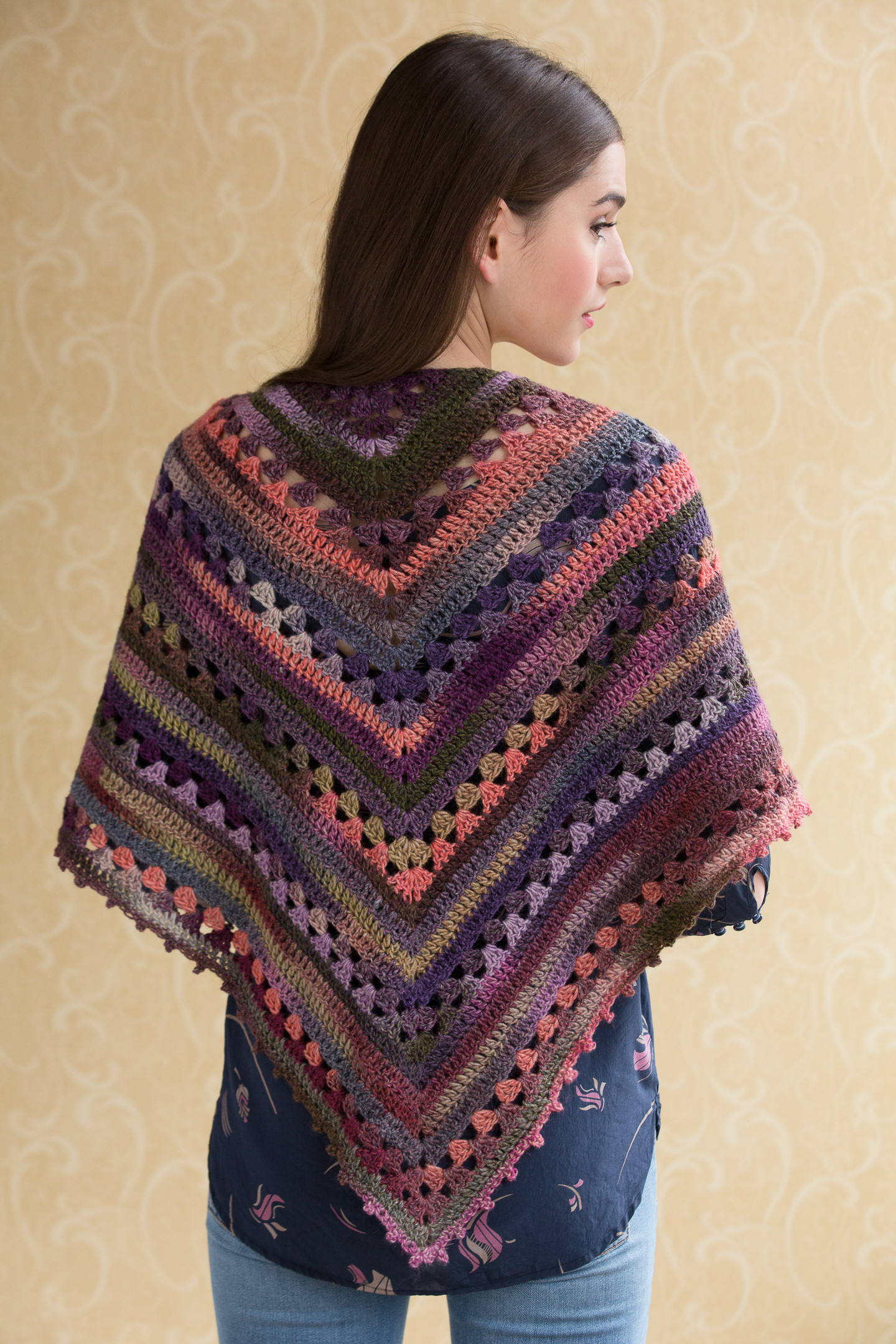 Crochet Shawl Lovely Simple Crocheted Shawl In Navajo Of Perfect 46 Images Crochet Shawl