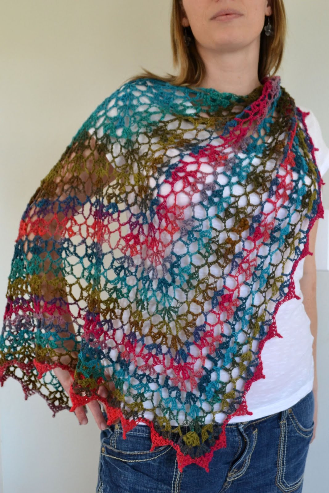 Crochet Shawl Luxury Crochet In Color My noro Shawl Of Perfect 46 Images Crochet Shawl