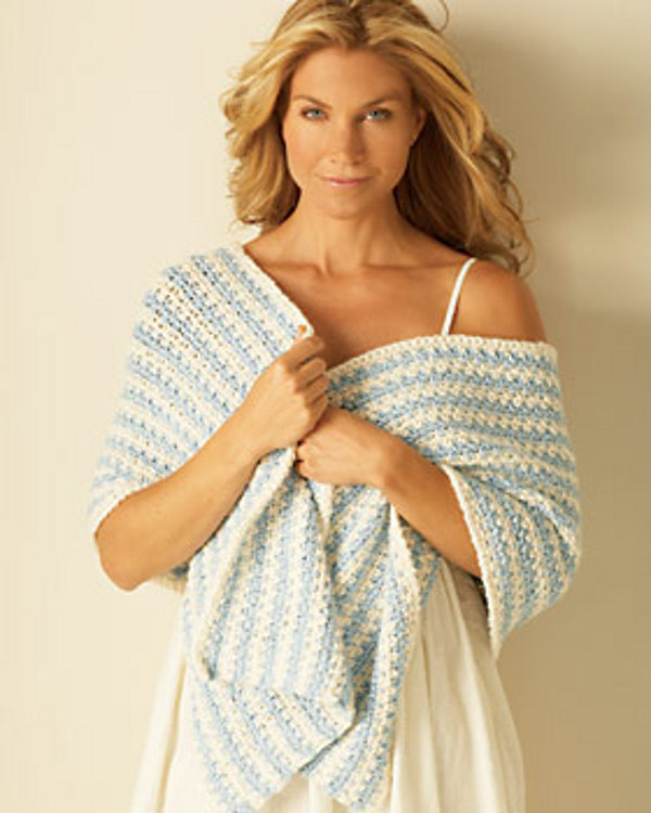 Crochet Shawl Pattern for Beginners Awesome Striped Crochet Shawl Pattern Of Innovative 47 Images Crochet Shawl Pattern for Beginners