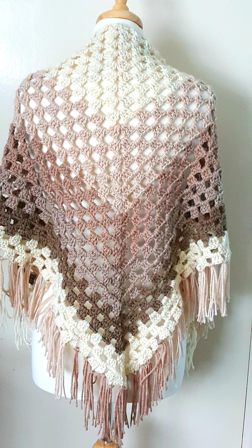 Crochet Shawl Pattern Inspirational Crochet Ombre Shawl Of Wonderful 50 Pics Crochet Shawl Pattern