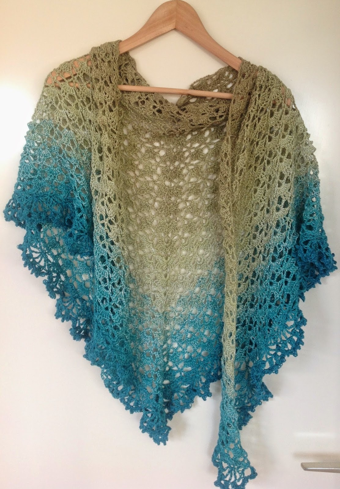 Crochet Shawl Pattern Inspirational K Van Kneuterig Crochet Shawl Of Wonderful 50 Pics Crochet Shawl Pattern