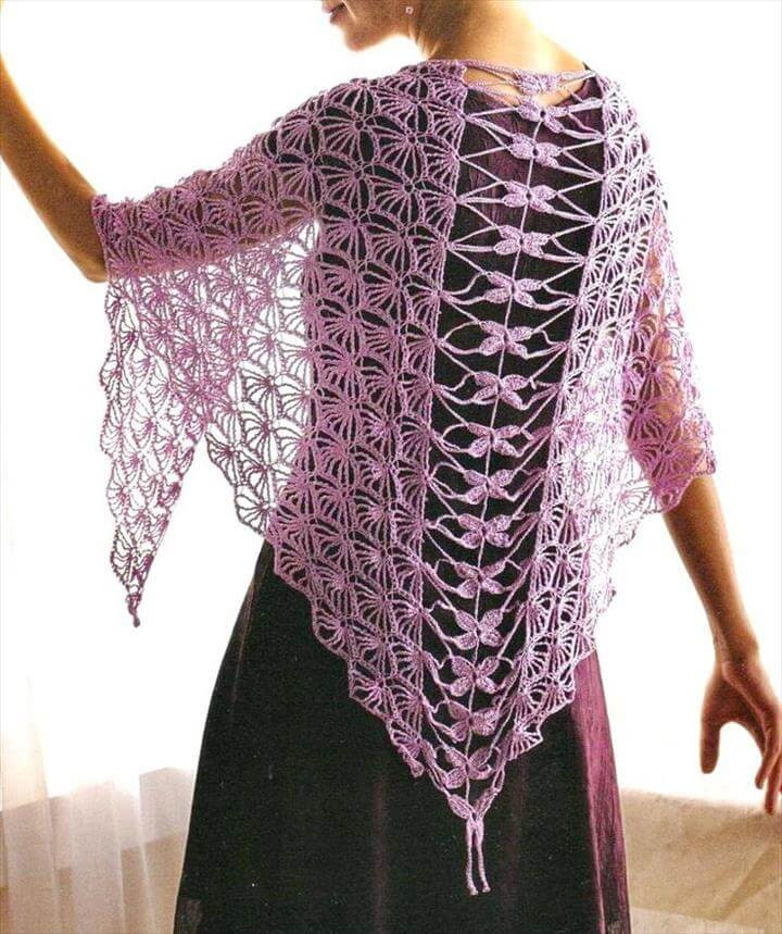 Crochet Shawl Pattern Lovely 18 Quick & Easy Crochet Shawl Pattern Of Wonderful 50 Pics Crochet Shawl Pattern