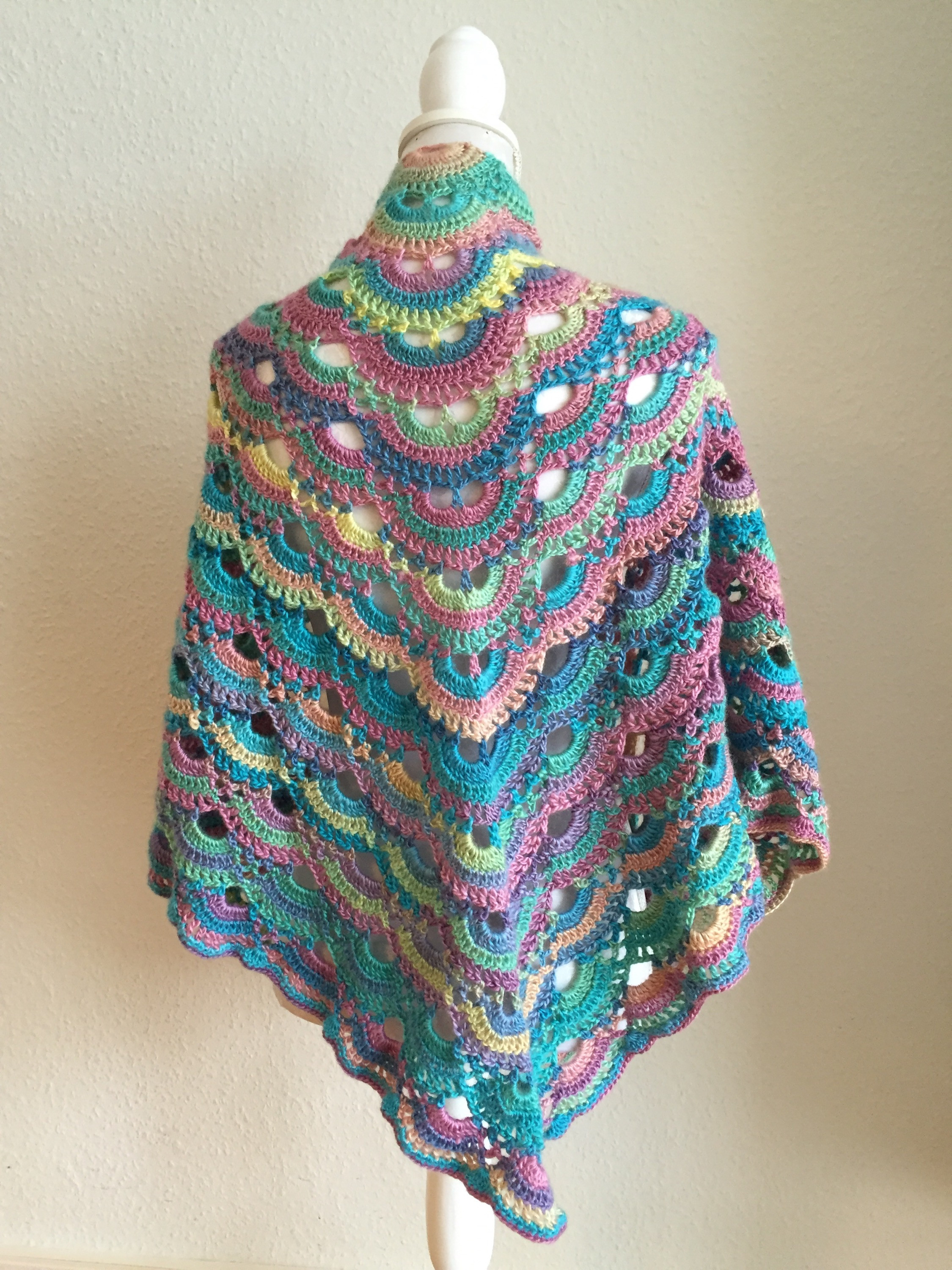 Crochet Shawl Pattern Luxury Crochet Pattern Virus Shawl Dancox for Of Wonderful 50 Pics Crochet Shawl Pattern