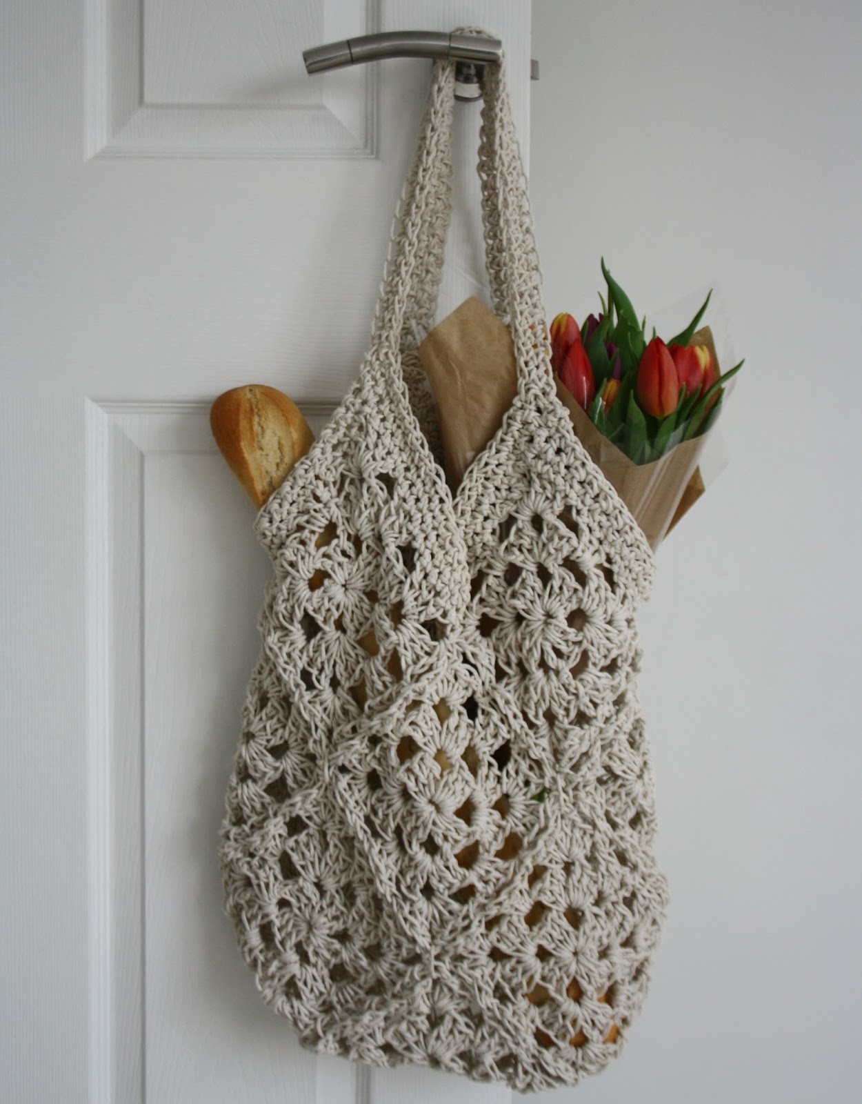 Crochet Shopping Bag Elegant Tales From A Happy House A String Shopping Bag Of New 47 Ideas Crochet Shopping Bag