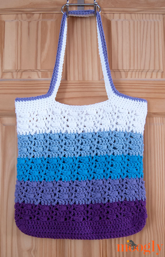 Crochet Shopping Bag Unique Free Crochet Pattern Wrapped Ombre tote Bag Of New 47 Ideas Crochet Shopping Bag