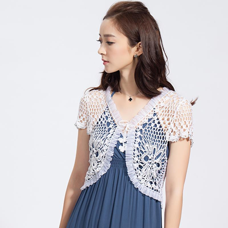Summer Hot Selling Brand Hand Knitted Women s Short Sleeve
