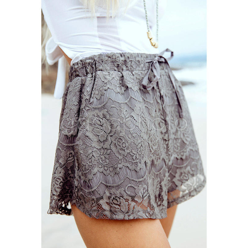 Crochet Shorts Womens Fresh Style Women High Waist Floral Lace Crochet Skirt Shorts Of Lovely 46 Photos Crochet Shorts Womens