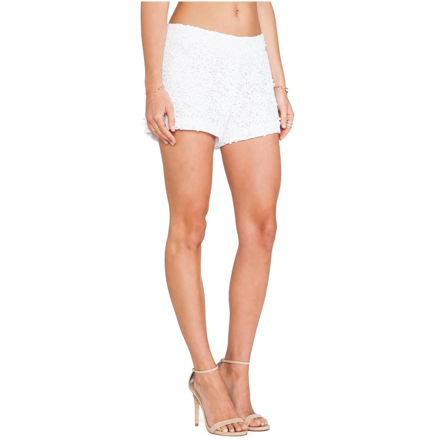 Crochet Shorts Womens Inspirational Alice Olivia Crochet Lace Shorts for Women Of Lovely 46 Photos Crochet Shorts Womens