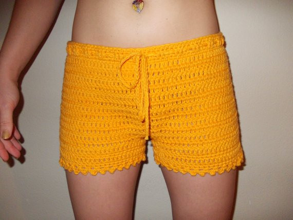 Crochet Shorts Womens New Items Similar to Crochet Shorts Women Crochet Boy Shorts Of Lovely 46 Photos Crochet Shorts Womens