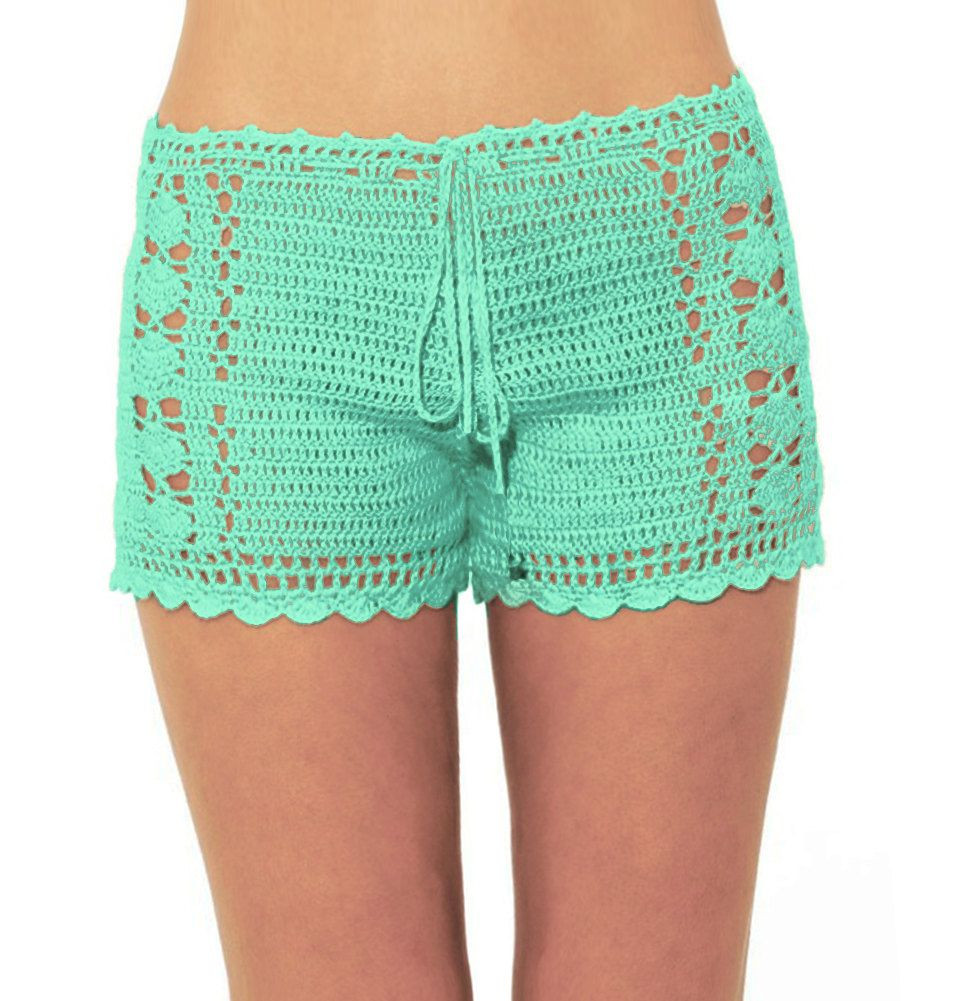 Crochet Shorts Womens Unique Crochet Swim Shorts for Women Of Lovely 46 Photos Crochet Shorts Womens