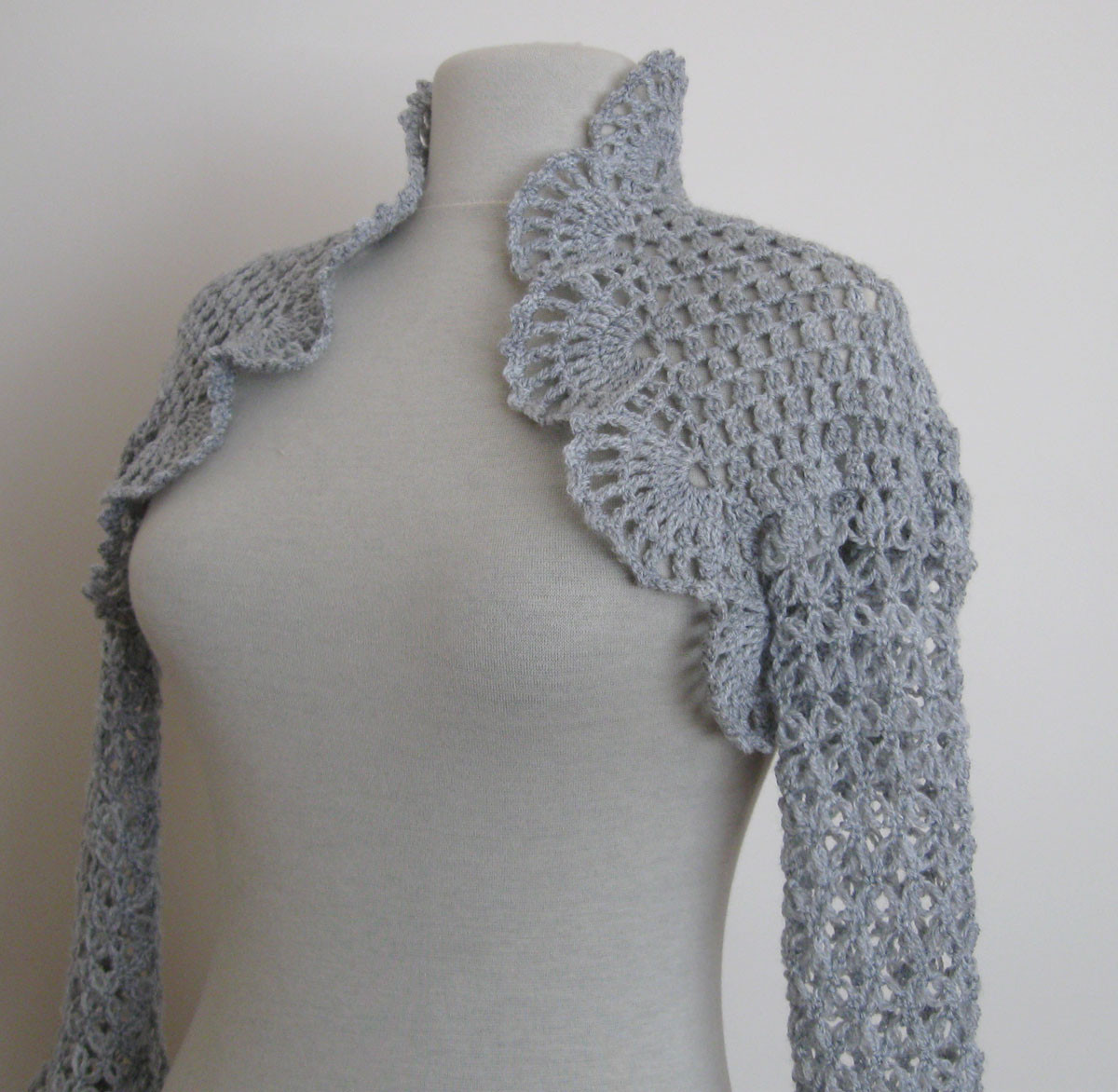 Crochet Wedding Shrug Oasis amor Fashion
