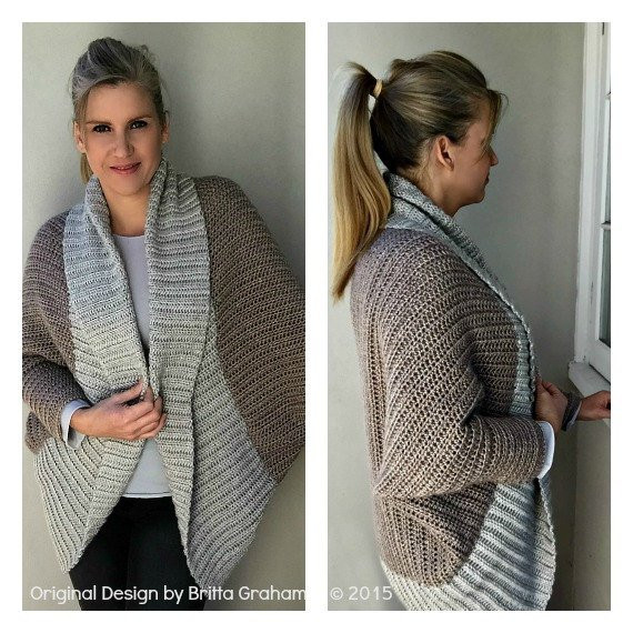 Crochet Shrug Pattern Fresh Oversized Crochet Shrug Pattern Sweater Pattern No 922 with Of Awesome 42 Images Crochet Shrug Pattern