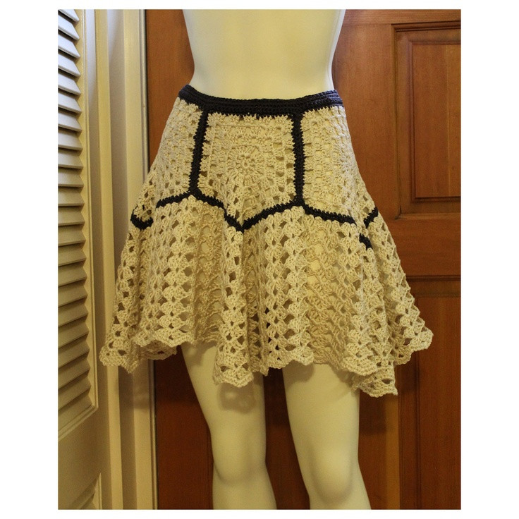 17 Best images about crochet skirts on Pinterest
