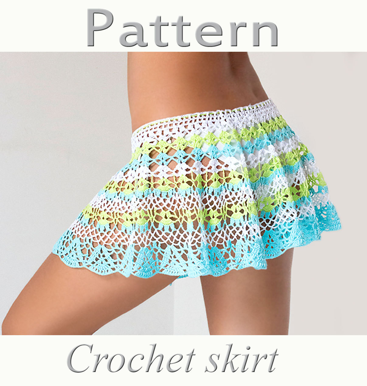 Crochet Skirt Patterns Awesome Crochet Beach Skirt Pattern Pdf Crochet Cover Up Of Fresh 47 Ideas Crochet Skirt Patterns