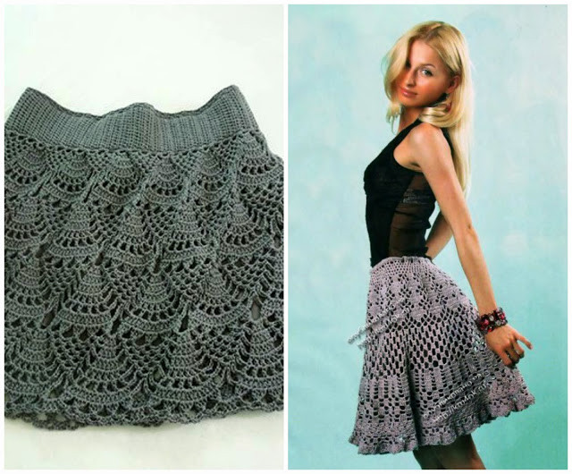 Little Treasures 10 Amazing Crochet Skirts free