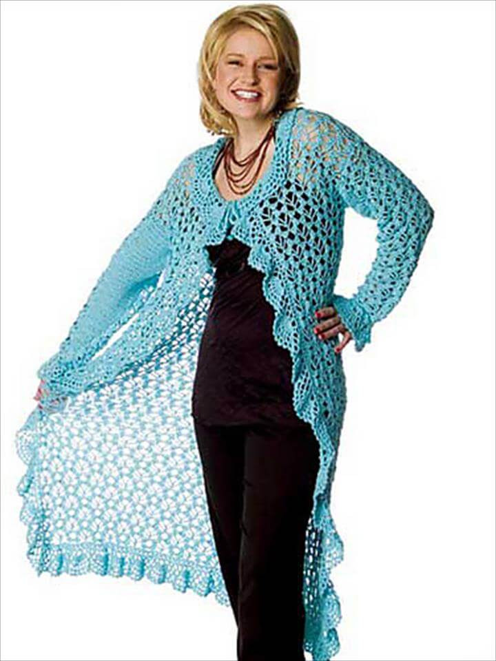 Crochet Sleeveless Cardigan Awesome top 50 Free Crochet Patterns You Should Try This Season Of Marvelous 43 Models Crochet Sleeveless Cardigan