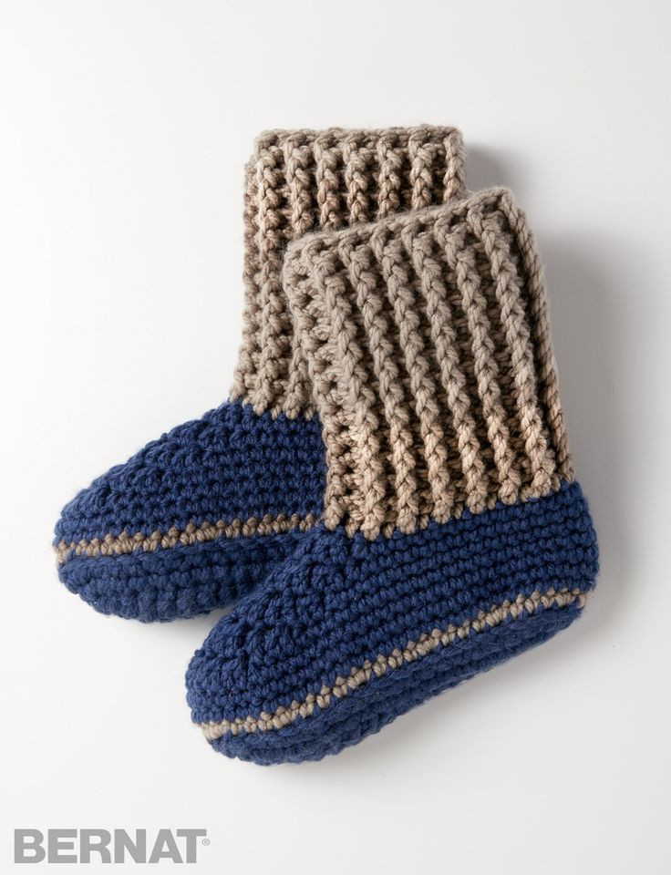 50 best images about Crochet slippers on Pinterest