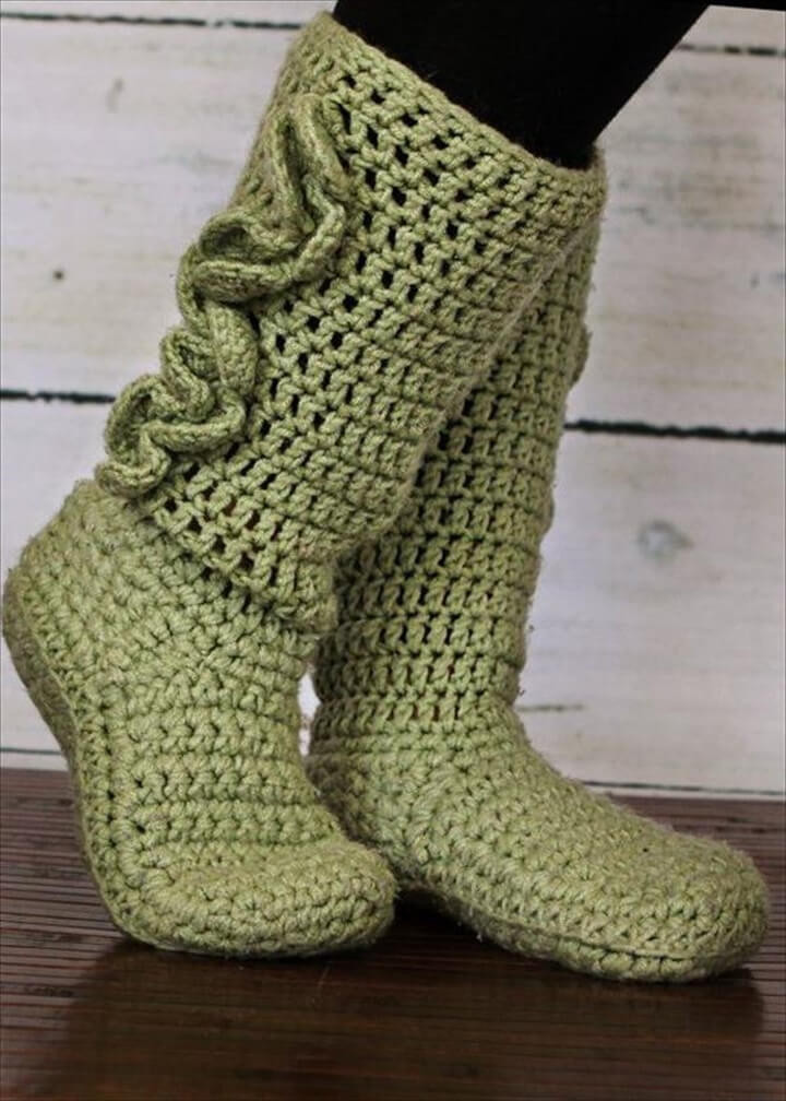 Crochet Slipper socks Best Of 30 Easy Fast Crochet Slippers Pattern Of Charming 47 Photos Crochet Slipper socks